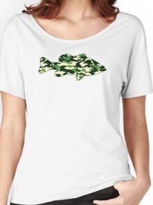 Camo Bass  Women's Relaxed Fit T-Shirt