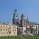 Wawel cathedral and complex in Krakow by machka