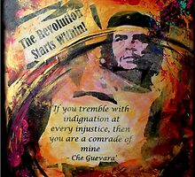 The Revolution Starts Within by Karen M Purves www.artbykarenmpurves.moonfruit.com