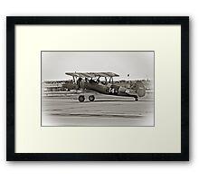 Boeing N2S-4 Stearman Kaydet Framed Print