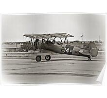 Boeing N2S-4 Stearman Kaydet Poster