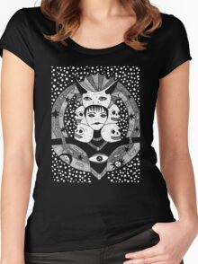 Star-Taker Tshirt Women's Fitted Scoop T-Shirt