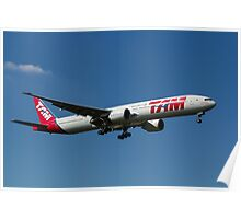 Tam Boeing 777 Poster