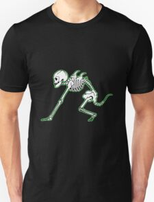 Rat Man Skeleton Unisex T-Shirt