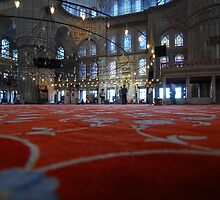 Blue Mosque by reflextions