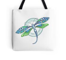 Deco Dragonfly Tote Bag