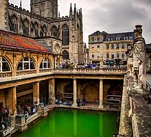 Roman Spa, Bath, England by plgphotx