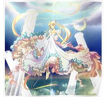 Sailor Moon Princess Serenity Poster