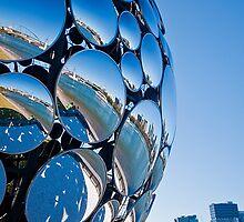 Golden Casket Light Sphere, Brisbane Festival 2011 (2 of 11) by Jaxybelle