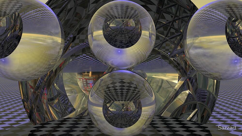 Cubed Spacewarp CV4 by Sazzart