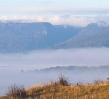 ~ Fog in the Valley ~ Sticker