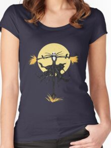The Pumpkin King Women's Fitted Scoop T-Shirt