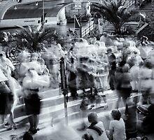 Public Dancing In Berlin Museum Island by novopics