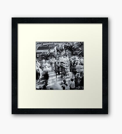 Public Dancing In Berlin Museum Island Framed Print