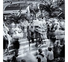 Public Dancing In Berlin Museum Island Photographic Print