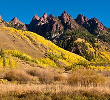 Hills Of Gold - Spikes of Granite by nikongreg