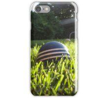 croquet ball iPhone Case/Skin
