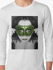 A mask I've worn but the truth will be told Long Sleeve T-Shirt