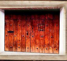 Wood Garage Door - Guatemala by ecannon11