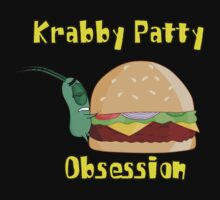 Krabby Patty Obsession by iedasb
