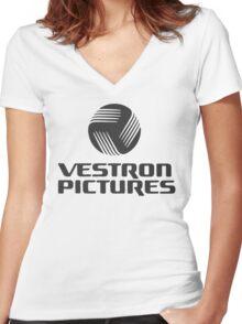 Vestron Women's Fitted V-Neck T-Shirt