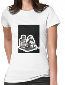 the waiting Womens Fitted T-Shirt