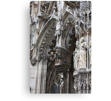Gothic Portal Canvas Print