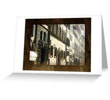 Windows & Doors Facade - Italy Greeting Card
