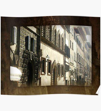 Windows & Doors Facade - Italy Poster