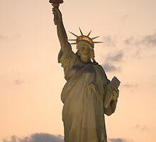 Lady Liberty by westcountyweste