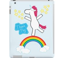 Dream Big - Happy Unicorn iPad Case/Skin