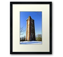 King Alfred's Tower, Stourton, Wiltshire, United Kingdom. Framed Print