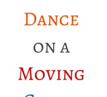 Learn to dance on a moving carpet Sticker