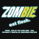 ZOMBIE: eat flesh by damnitologist