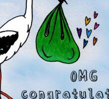 OMG Congratulations! Sticker