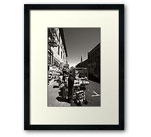 Streets of San Francisco Framed Print
