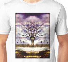 As I face the path, it opens before me Unisex T-Shirt