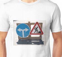 Roadworks and Detour Unisex T-Shirt