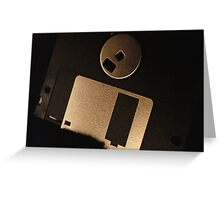Floppy Disk Greeting Card