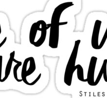 Stiles Stilinski aka Dylan O'Brien / Teen Wolf Sticker