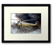 Royal Navy Westland Sea King HC Mk 4 ZA298 Framed Print
