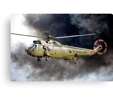 Royal Navy Westland Sea King HC Mk 4 ZA298 Canvas Print