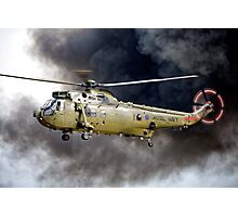 Royal Navy Westland Sea King HC Mk 4 ZA298 Photographic Print