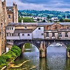 Bath, Pulteney Bridge by LudaNayvelt