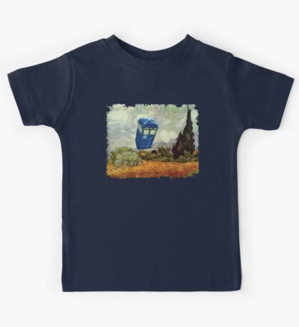 Vincent and the Doctor Kids Tee