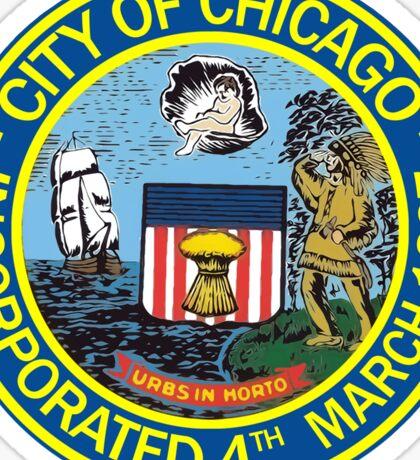 Chicago City Seal Sticker Sticker
