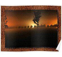 Treeline Afterglow Poster
