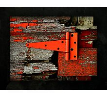 Barn Latch Photographic Print
