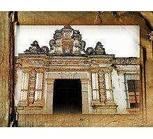 Church Facade - Guatemala Photographic Print