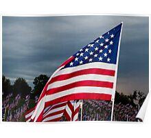 Freedom Flag Poster